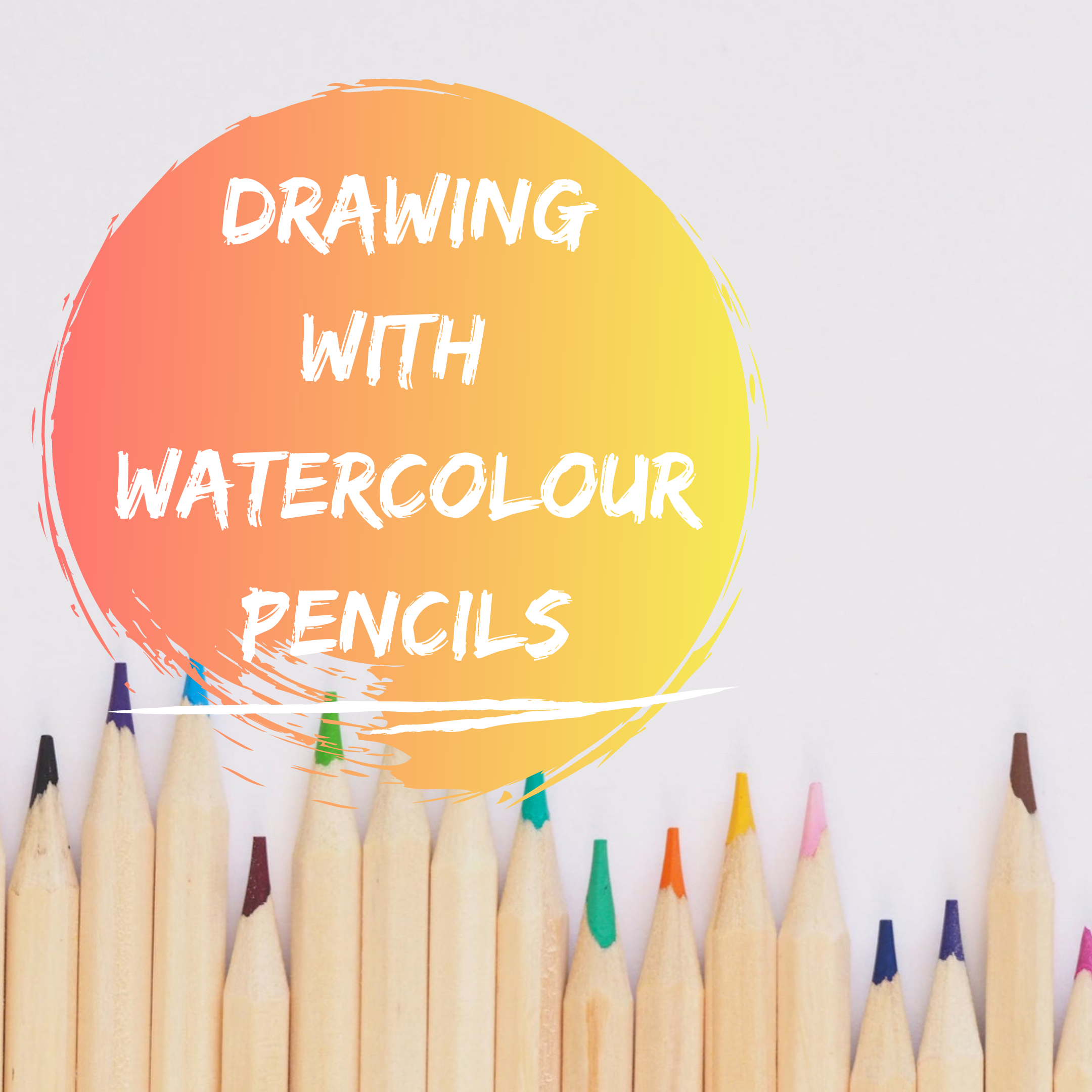 Drawing watercolour pencils course Hertfordshire